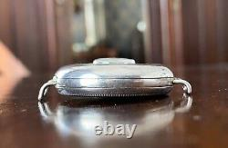 1917 Bulla Semi Hunter trench watch, silver cased 35mm, military style, original