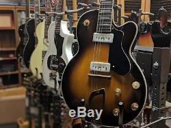 1956 Guild M-75 Aristocrat Electric Guitar with Original Leather Case