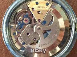 1966 Vintage Omega Constellation AChr. CD168.004 561 Onyx! 24J Original Pie Pan