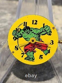 1978 Dabs Super Hero Incredible Hulk Watch in Original Green Case