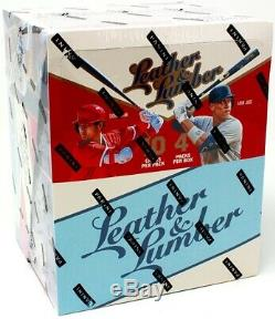 2019 Panini Leather And Lumber Baseball Hobby 10 Box Case Blowout Cards