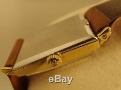 2974 Original Vintage Omega Art Deco, Stylish Squared 32mm Case, Circa 1970