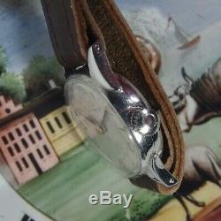 2974 Original Vintage Omega Geneve Horn Case Stylish Circa 1950 Excellent