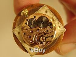 3238 ORIGINAL OMEGA YELLOW GOLD F LADIES UNISEX RECTANGULAR CASE 32X22mm, 1966