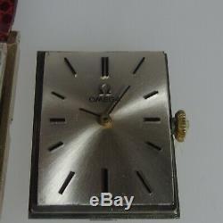 3714 Original Omega Yellow Gold F Ladies Unisex Rectangular Case 32mm 620 C
