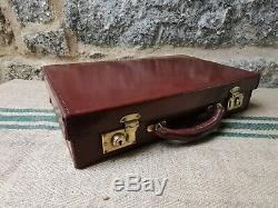 A Vintage Leather Executive Briefcase Attache Case by Bag Stores
