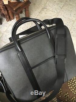 Alfred Dunhill Brief Case/laptop Case New Original