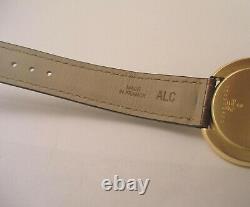 All Original Cartier 18 K Gold Case Paris Vendome Swiss Watch with Cartier Box