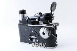Amazing! Nikon Model H Field Microscope with Original Leather Case Japan 856725