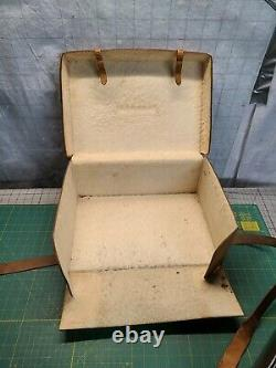 Antique 1880 Jenner Knewstub Leather Documents ABC Dispatch Box Travel Case NOS