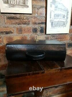 Antique Bramah Case Writing slope with Bramah lock, By D. Edwards London