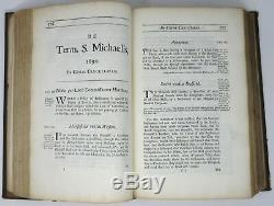 Antique LAW Lawyer Book, High Court Chancery Cases, 1726 Thomas Vernon