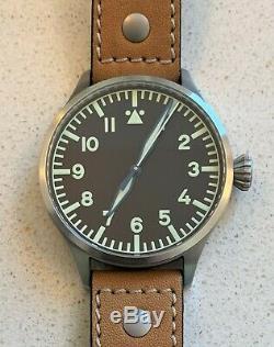 Archimede Pilot 42 H Stainless Steel Case, ETA 2824-2 Swiss Movement, E. C