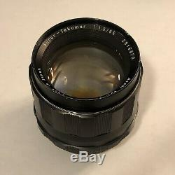 Asahi Pentax Super-Takumar 85mm f/1.9 With Original Leather Case Very Good++