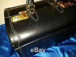 Asprey Koffer Vintage Asprey Leather Travel Suitcase 18 Made In Italy