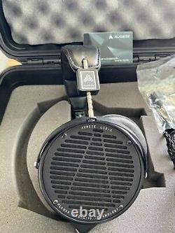 Audeze LCD-X Leather Standard Headphones With Original Cable And Pelican Case