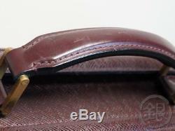 Auth Pre-owned Louis Vuitton LV Taiga Acajou Pilot Case Oural Bag M30026 181657