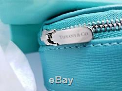 Authentic Tiffany & Co Leather Jewelry Travel Case with original Tiffany Box