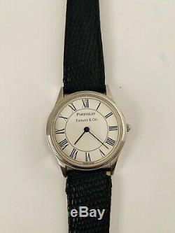 Authentic Vintage Tiffany & Co. PORTFOLIO WATCH Men's/Unisex withOriginal CASE