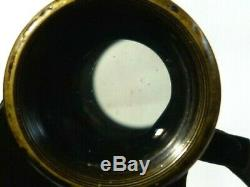 Binoculars Carl Zeiss Jena Silvamar 6x In Original Leather Case #CZ1