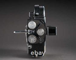 Bolex H8 SerialNo122767 With 6.5-75mm Viewfinder and Original Leathercase