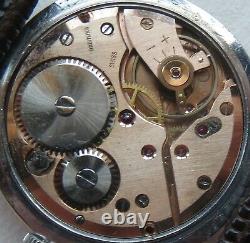 Breitling Cadette mens wristwatch nickel chromiun case load manual original dial