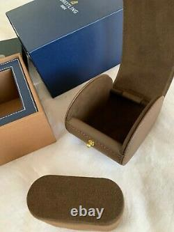Breitling Original Authentic Watch Box With Genuine Leather Inner Case Pillow