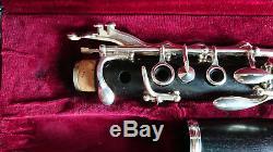 Buffet R13 Prestige Bb Clarinet in Original Leather Case Very Good Condition