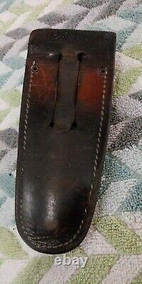 CASE XX Rigger's Knife 6246R Marlin Spike 10 dot withleather Sheath (L#161)