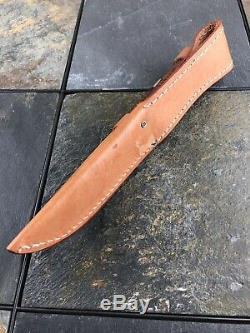 CASE XX Twin Finn 16-5 SS Hunter Knife Set TESTED XX RAZOR EDGE 1991 W Sheath