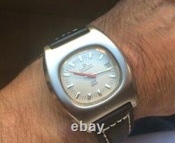 CERTINA Club 2000 Automatic Watch Stainless Steel case original Crown New Strap