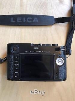 CLEAN Leica M240 M Digital 24.0MP Digital Camera With Original Box, Leather Case