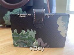 COACH x Kaffe Fassett Floral Marleigh Satchel AND Card Case