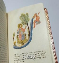 CODEX BARBERINI GRECO 372 LEATHERBOUND MINIATURE PSALTER N CASE New