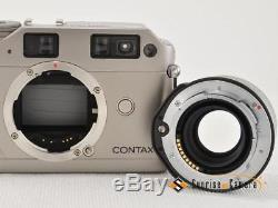 CONTAX G1 /Planar T 45mm F2 all items withoriginal leather case NEAR N (12662)