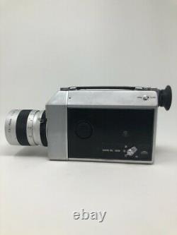 Canon Auto Zoom 814 Super 8 Movie Camera with Original Leather Case FILM TESTED