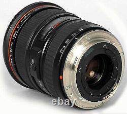 Canon EF 17-35mm F/2.8 L USM Wide Angle Lens in original Leather Case