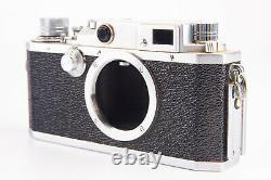 Canon IV SB2 35mm Film Rangefinder Camera Body with Original Leather Case V10