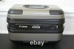 Canon ef 400mm f4 DO IS usm with Lens hood, leather cap, and original case