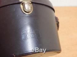 Carl Zeiss 8x30 B Binoculars c/w Original Leather Case Serial No. 633066