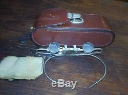 Carl Zeiss Jena 2.0 Magnifying Glasses with original leather case