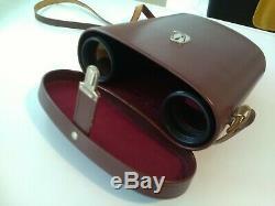 Carl Zeiss Jena dodecarem 12X50 B Binoculars Vintage in original leather case