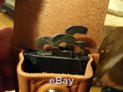Case XX 5 Locking Folder Rosewood Ca174 Smooth Rosewoo Handle Leather Sheath
