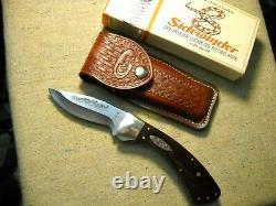 Case XX 8 Dot SS USA Sidewinder Knife beautiful Rosewood Orig. Leather Sheath