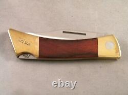Case XX Changer Knife 2011 Gut Hook Blade New In Box With Leather Sheath