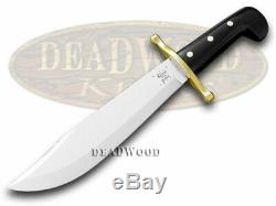 Case xx Black Synthetic Fixed Blade Bowie Knife 286 Knives