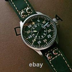 DEKLA Type B Aviator Pilot Automatic Watch SW200 Bead-Blasted 40mm Case German-M