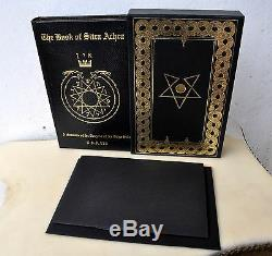 Deluxe Book of Sitra Achra Slip-cased Qliphoth Grimoire LE#101/110 Ixaxaar TOTBL