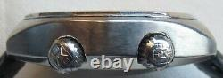 Edox Geoscope GMT mens wristwatch steel case automatic all original