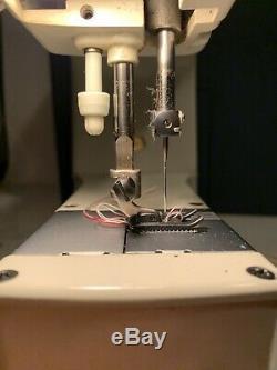 Elna SU 62C Tavaro Free Arm Sewing Machine w Original Foot Pedal & case Tested